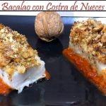 Bacalao con Costra de Nueces al horno | Receta de Cocina en Familia