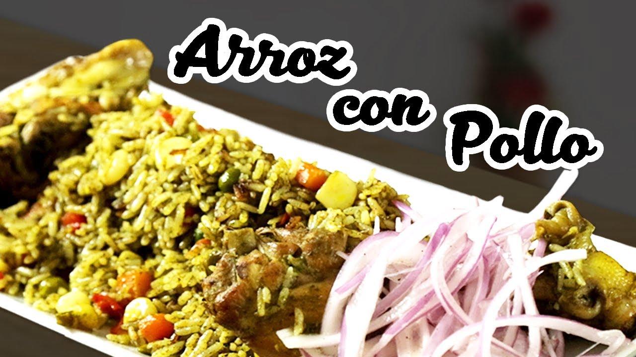 Cómo hacer Arroz con Pollo | Sabores del Perú | La auténtica cocina peruana