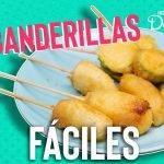 Cómo hacer banderillas empanizadas receta | Cocina Delirante
