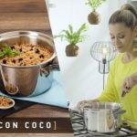 Cocina con Royal Prestige   Receta de Arroz con Coco