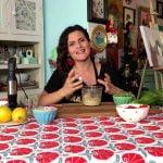 Connie Achurra y comida saludable en Con Las Manos En La Masa