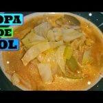 DELICIOSA SOPA DE COL / SOPA DE REPOLLO
