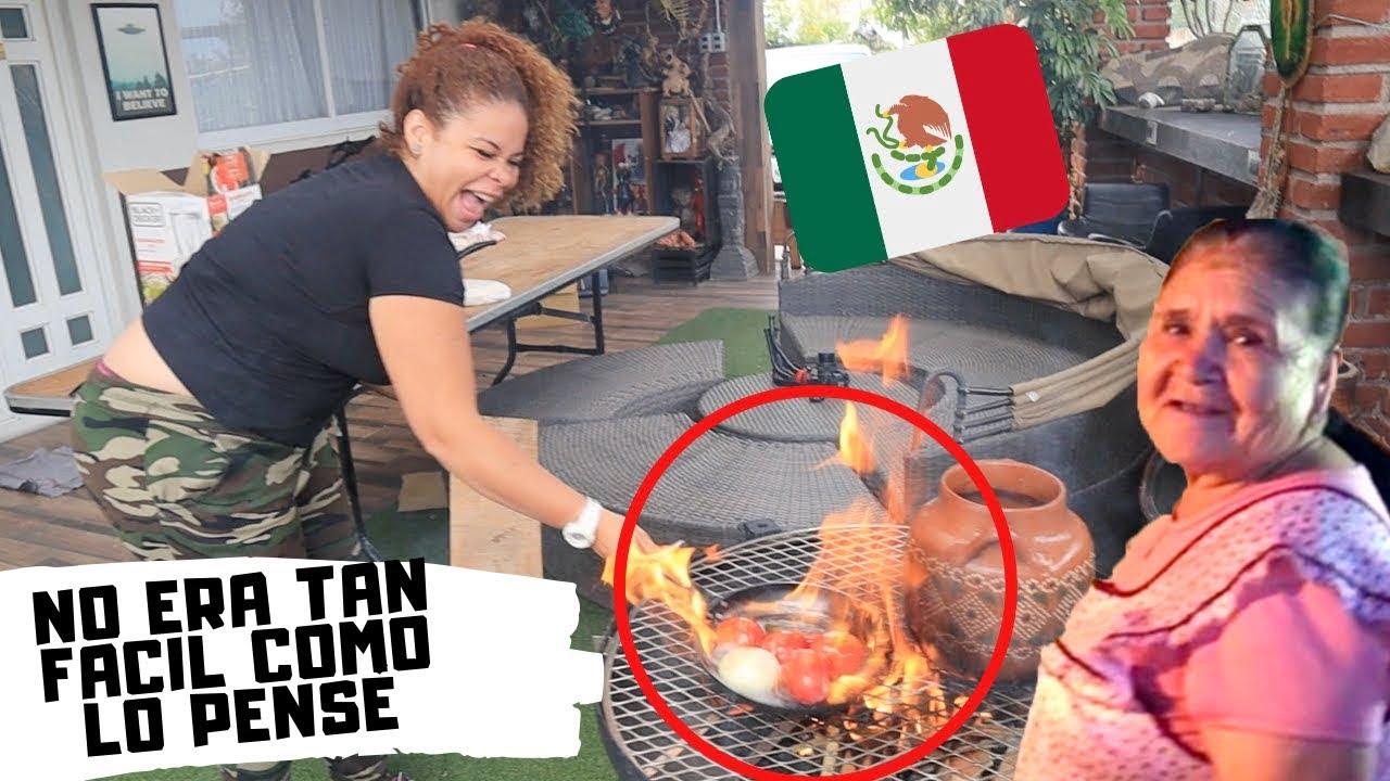 EXTRANJERAS preparan RECETA de Doña Angela,  De mi rancho a tu cocina | PENSÉ QUE SERIA MAS FACIL