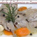 Escabeche de Codornices en Conserva   Receta de Cocina en Familia
