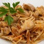 Fideos con verduras y pollo - Cocina Abierta de Karlos Arguiñano