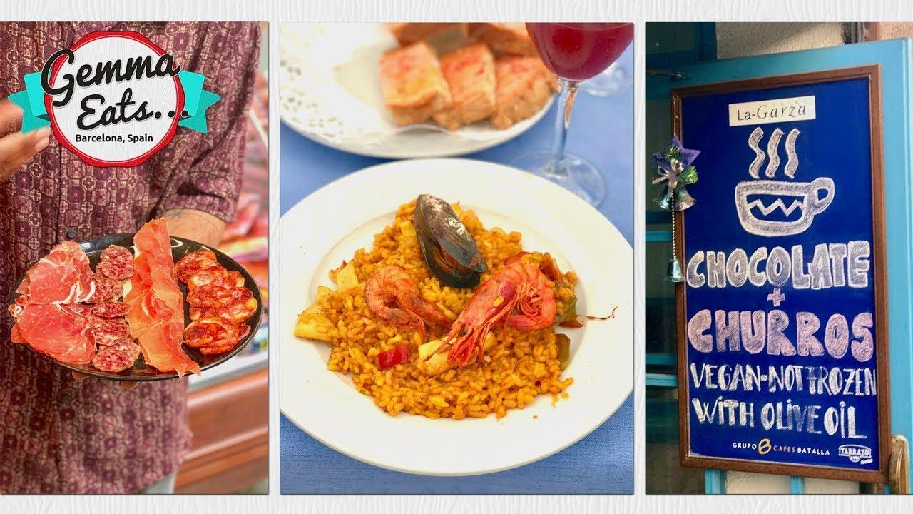 Gemma Eats ... Barcelona Secret Food Tour | La mejor paella, tapas, jamón y más comida española.