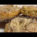 KETO CINNAMON ROLLS /ROLES DE CANELA KETO  Mi receta de cocina