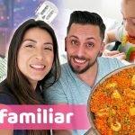 LA PAELLA DE FER + VEMOS COCO CON TIÁN | VLOG FAMILIAR