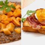 Lentejas con setas - Huevos Benedict - Cocina Abierta de Karlos Arguiñano