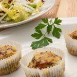 Magdalenas de champiñón, bacon y queso - Cocina Abierta de Karlos Arguiñano