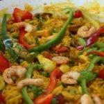 PAELLA DE MARISCOS - cocina casera