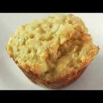 PAN de harina de MAIZ casero  (MUFFINS salados saludables)  Mi receta de cocina