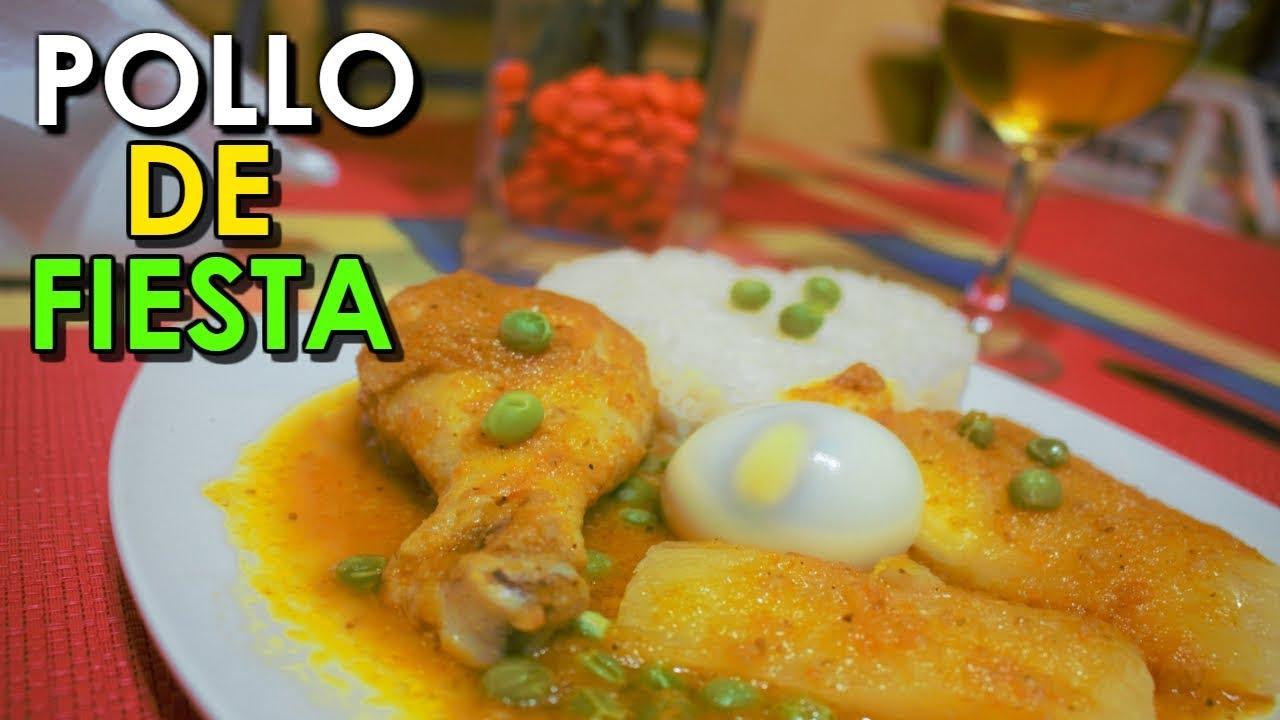 POLLO DE FIESTA - Tips y preparación, fácil y sencillo | Recetas Chavely Comida Peruana
