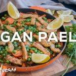 Paella Vegana - Rápida, Simple, Deliciosa