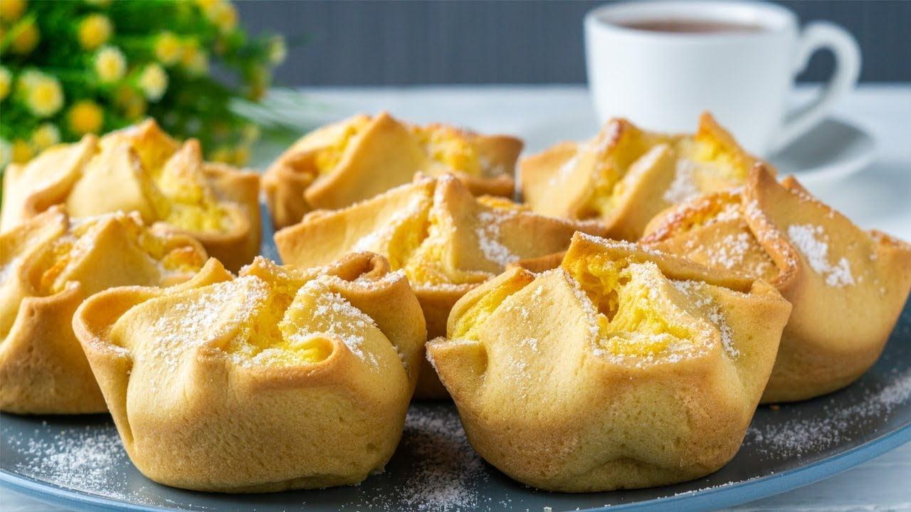 Pasteles italianos Soffioni/ Muy buena receta/  Comida casera!!!