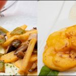 Patatas con tomate y huevos fritos - Tartaletas de melocotón - Cocina Abierta