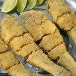 Pescado frito - Corvina frita - Mezcla simple y barata fácil  Mi receta de cocina