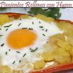 Pimientos Rellenos con Huevo | Receta de Cocina en Familia