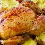 Pollo al horno con patatas. Riquísimo y con TRUCOS
