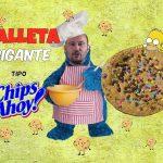 GALLETA COOKIE TIPO CHIPS AHOY con pepitas de chocolate