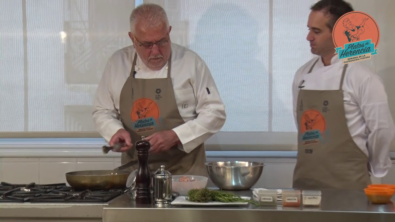 RECETAS DE LA ABUELA - CHORIZO POMAROLA   Semana de la Gastronomía 2018 Cocina con Herencia