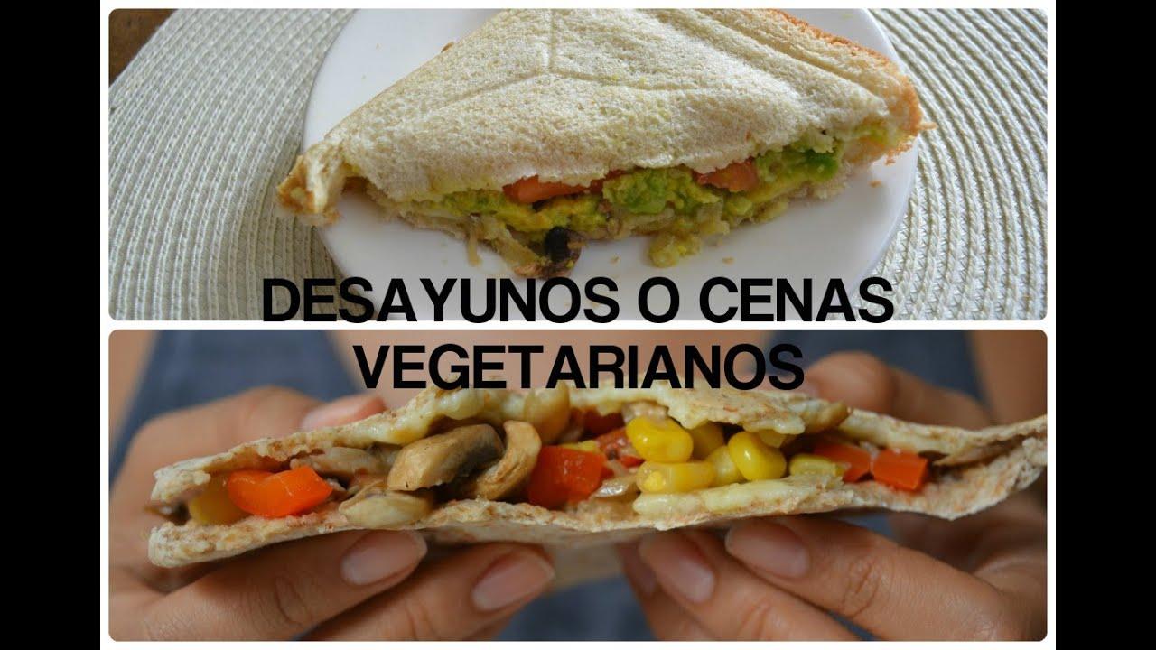 RECETAS VEGETARIANAS RÁPIDAS Y FÁCILES/ Vegetarian recipes
