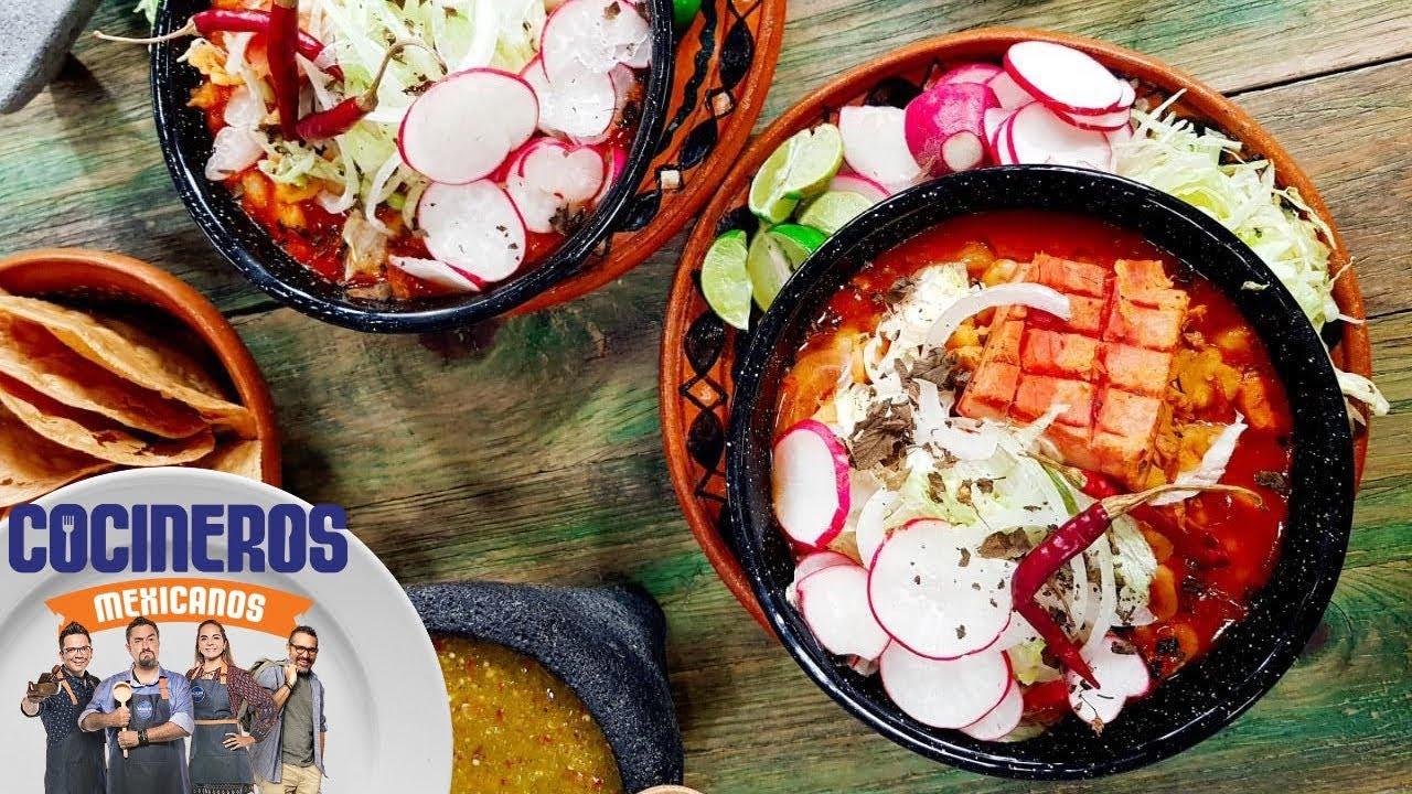 Receta: Pozole rojo   Cocineros Mexicanos