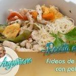 Receta de Fideos de arroz con pollo por Karlos Arguiñano