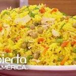 Receta de arroz con pollo para 15 personas por solo $15