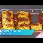 Receta de cocina: Pastel de rollos de lasaña