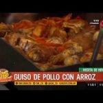 Receta de hoy: guiso de pollo con arroz