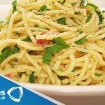 Receta para preparar spaghetti carbonara con calabacitas. Receta de spaghetti carbonara  Mi receta de cocina
