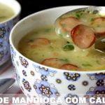 SOPA CREMOSA DE Yuca Con Pepperoni y Tocino - Recetas I LOVE