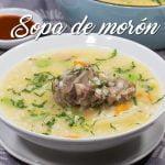 SOPA DE MORÓN NUTRITIVA Y ECONÓMICA - COMIDA PERUANA | RECETA DE ACOMER.PE