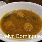 Sopa (Caldo ) de Platano Verde