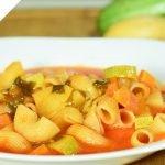 Sopa de Coditos Deliciosa y Nutritiva