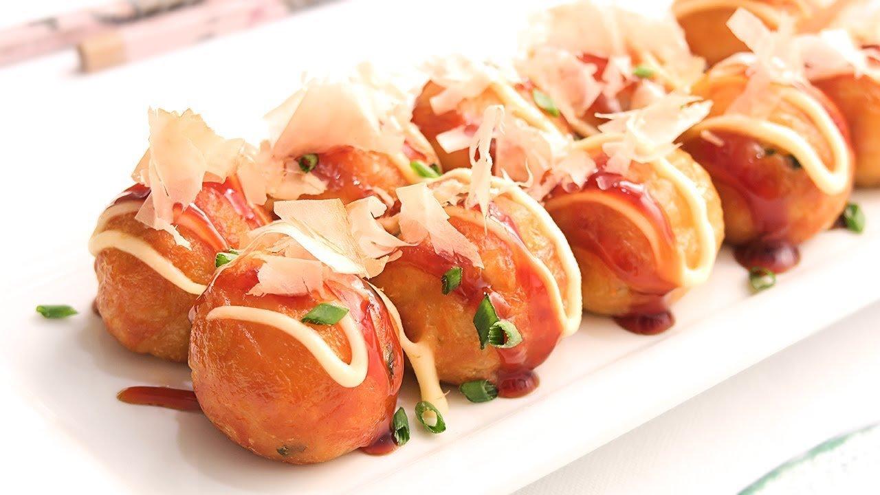 Takoyaki   Receta Fácil de Bolas de Pulpo Japonesas