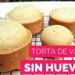 😍Torta de vainilla esponjosa sin huevos🐣| Natalia Salazar  Mi receta de cocina