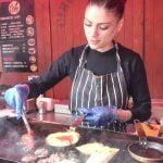 Tortillas españolas y paella. Comida callejera de Londres
