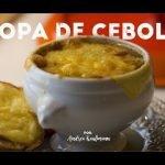 ¡Cómo hacer una sopa de cebolla increíble! - Andrea Kaufmann