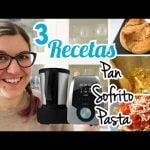 3 RECETAS MAMBO CECOTEC FÁCILES | Pan en Bolsa de asar, cómo hervir pasta en Mambo y Sofrito