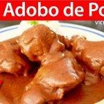 ADOBO DE POLLO | Vicky Receta Facil