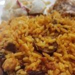 Arroz Con Chorizo (Longaniza ) Y Pollo