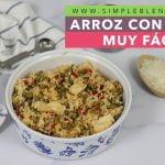 Arroz con pollo muy fácil | El mejor arroz con pollo | Receta fácil de arroz