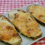 Berenjenas rellenas de atún una deliciosa receta muy fácil y económica
