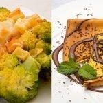 Brócoli con pistachos y queso - Crepes con salsa de chocolate - Cocina Abierta