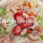 CÓMO COCINAR SOPAS FILIPINAS CREMOSAS | El imperio de Kat |