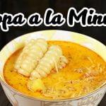 Cómo aprender a cocinar Sopa a la Minuta | Sabores del Perú | La auténtica cocina peruana