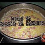 """Cómo cocinar SOPAS """"Pinoy Style"""" (Tagalog)"""