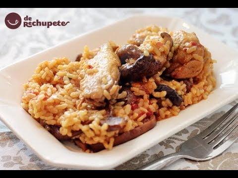 Cómo hacer arroz con pollo. Arroz fácil y barato